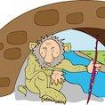 Illustration of a troll © Shelley Best 2010