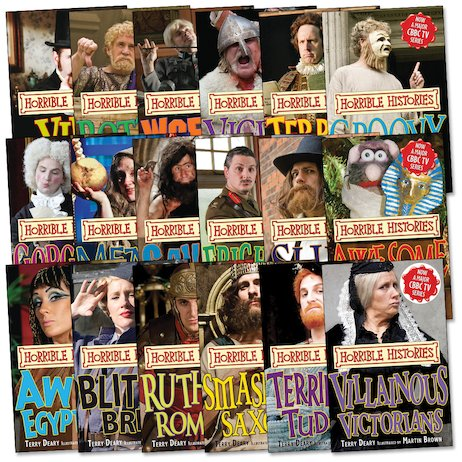 Horrible Histories TV Tie-In Pack
