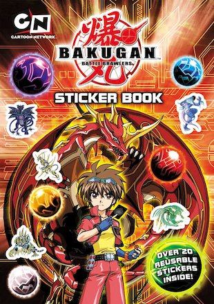 Bakugan Sticker Book