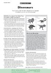 Dinosaurs - activities (1 page)