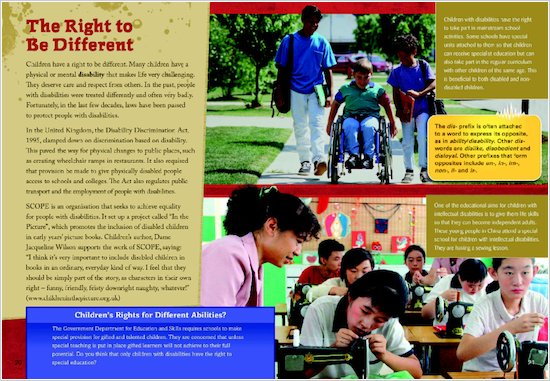 Shockwave: Kids have rights too, Sample Page