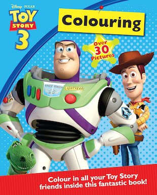 Toy Story 3: Colouring