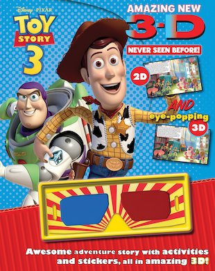 Toy Story 3: 3D Story and Activity Book