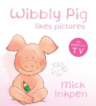 Wibbly Pig Likes Pictures