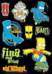 FREE Simpsons sticker sheet