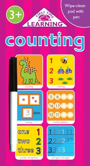 First Time Learning: Counting