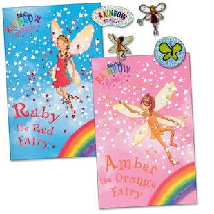 Rainbow Magic: Ruby and Amber 2-in-1