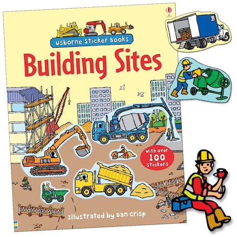 Building Sites Sticker Book