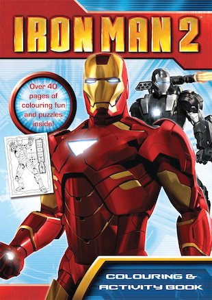 Iron Man 2: Colouring and Activity Book