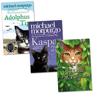 Michael Morpurgo Cat Novels Trio