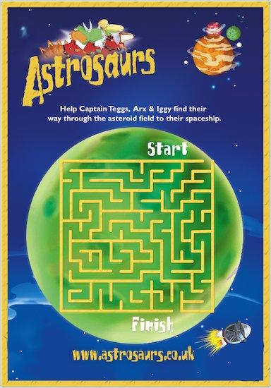 Astrosaurs Maze