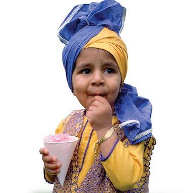 Sikh boy © Kathy Dewitt/Alamy