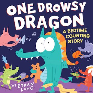 One Drowsy Dragon: A Bedtime Counting Story