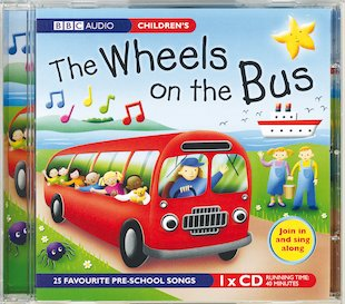 The Wheels on the Bus Audio CD