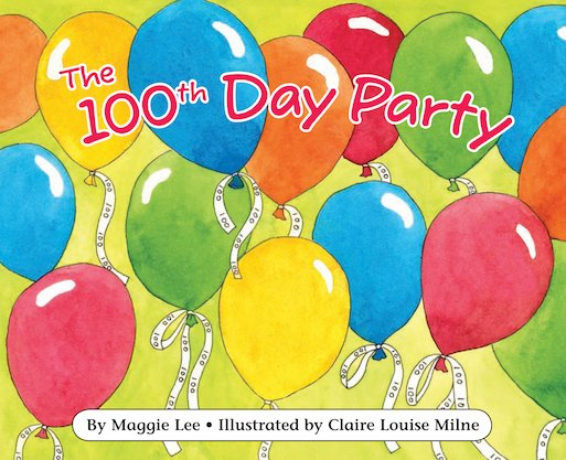Maths Readers Year 2: The 100th Day Party x 6