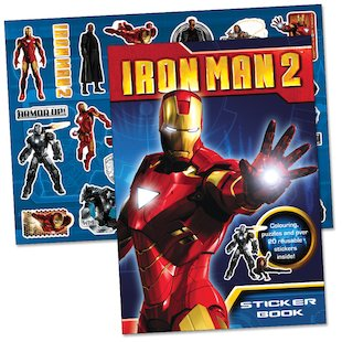 Iron Man 2 Sticker Book