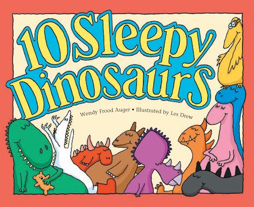 10 Sleepy Dinosaurs