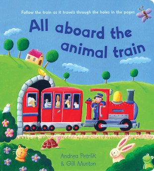 All Aboard the Animal Train