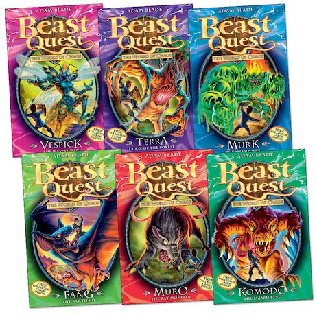 Beast Quest: Series 6 Pack