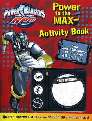 Power Rangers RPM: Power to the Max Activity Book