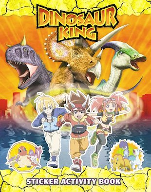 Dinosaur King: Sticker Activity Book