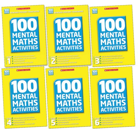 100 Mental Maths Activities Complete Pack
