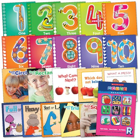 Maths Readers Reception: Easy-Buy Pack