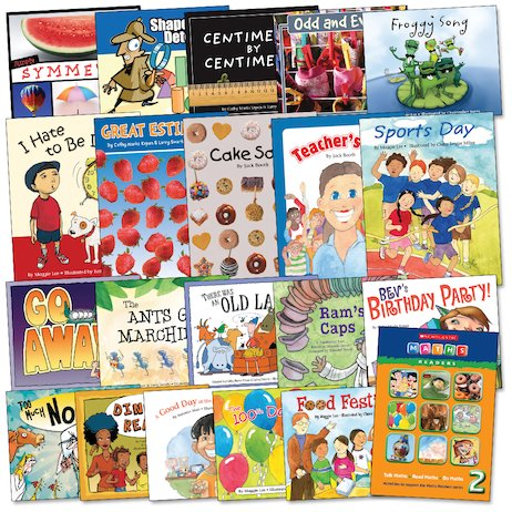 Maths Readers Year 2: Easy-buy 120 books Pack.