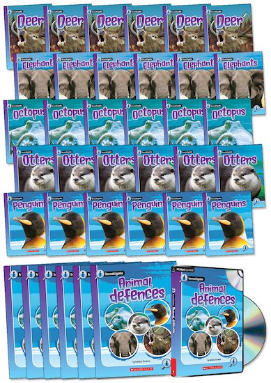 Investigate: Animal Defences Pack