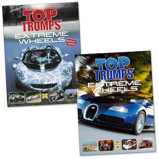 Top Trumps: Extreme Wheels Pair