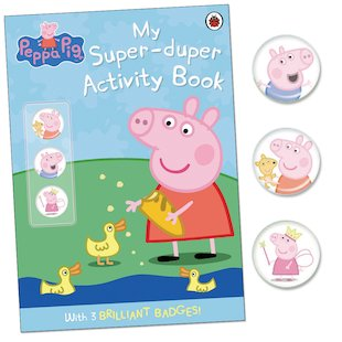 Peppa Pig: My Super-Duper Activity Book