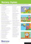 Nursery rhymes (1 page)