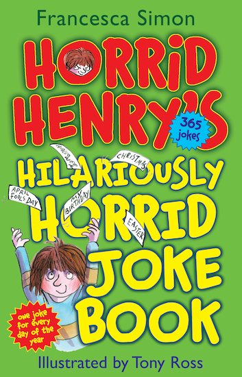Horrid Henry's Hilariously Horrid Joke Book