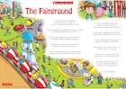 'The Fairground' poem poster