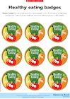Healthy eating – reward badges