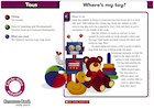 Toys circle-time cards