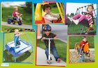 Outdoor toys – poster
