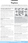 Toy box - activities (1 page)