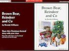 'Brown Bear, Reindeer and Co' – Christmas story interactive