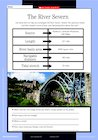 Great British rivers – activity sheets