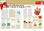 Christmas crafts - lesson plan (2 pages)
