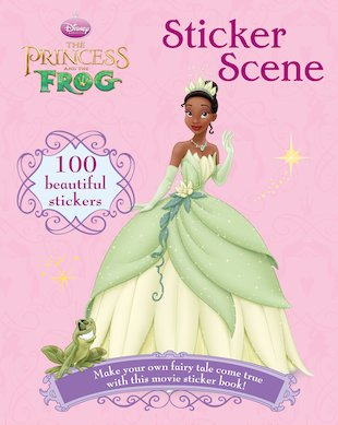 The Princess and the Frog: Sticker Scene