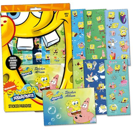 SpongeBob Sticker Paradise