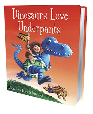 Dinosaurs Love Underpants (Board Book)