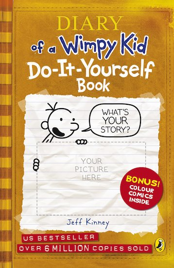 Diary of a wimpy kid do it yourself book scholastic shop diary of a wimpy kid do it yourself book solutioingenieria Images