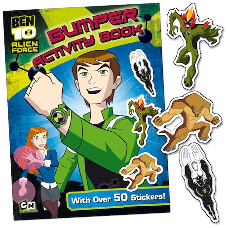 Ben 10 Alien Force: Bumper Activity Book