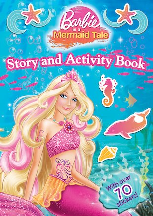 Barbie: A Mermaid Tale Story and Activity Book
