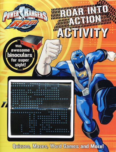 Power Rangers RPM: Roar into Action Activity Book