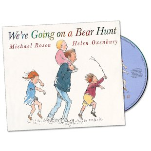 We're Going on a Bear Hunt: Book and CD