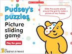 Pudsey's puzzles: Picture sliding game